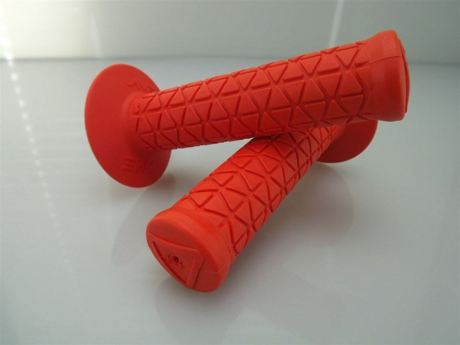 New AME Bicycle BMX TRI Grips Old School BMX Made In The USA  ORANGE 2