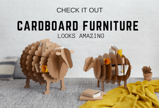 Cardboard Furniture is Now on My Wishlist – And It Should Be On Yours Too