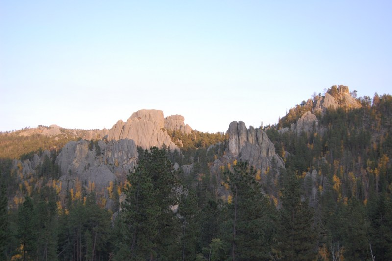 needles highway scenic drive south dakota
