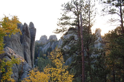Scenic Needles Highway South Dakota