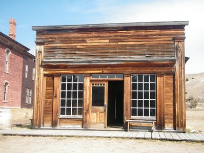 the outside of the bar in Bannack State park.  Looks respectable!