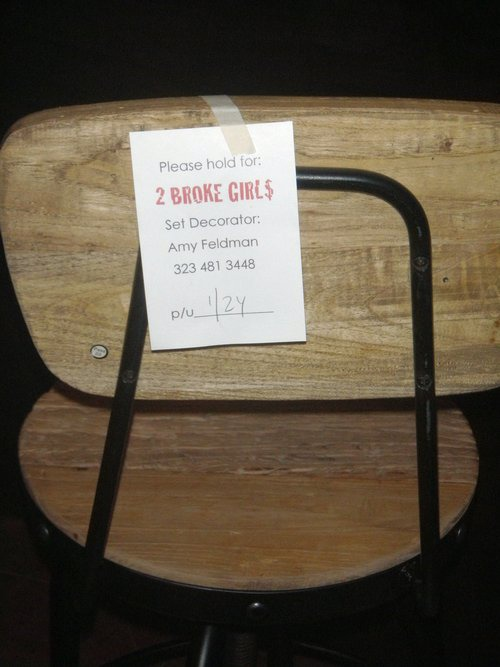 Prop slated for use by the TV shoe Two Broke Girls