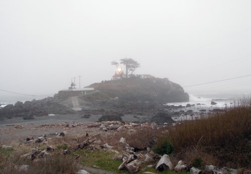 Battery Lighthouse, Crescent City California