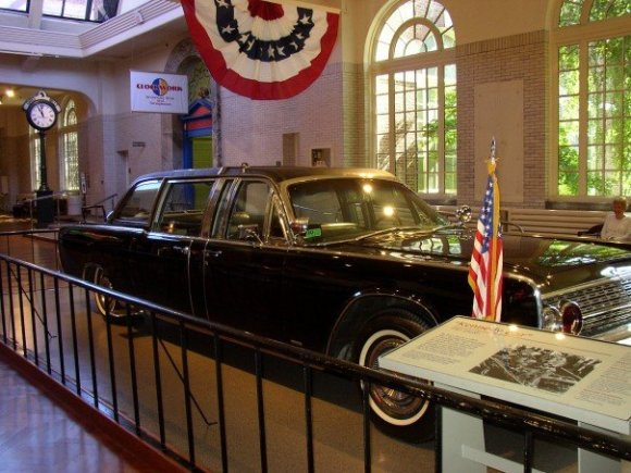 Kennedy's state car