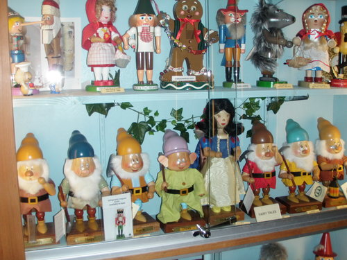Fairy tale themed nutcrackers