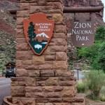 Hiking Lower, Middle and Upper Emerald Pools, Zion National Park