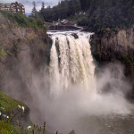 Twin Peaking Out, Snoqualmie Falls Washington