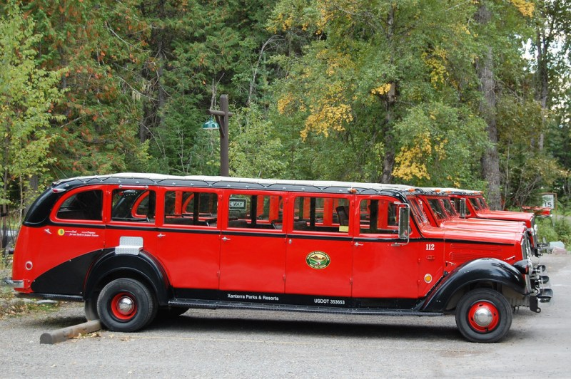 Glacier National Park Red Bus Tour