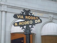 Window Shopping Rodeo Drive, Beverly Hills California