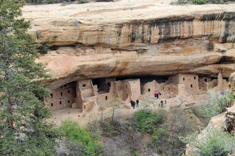 Mesa Verde National Park Spruce Tree House
