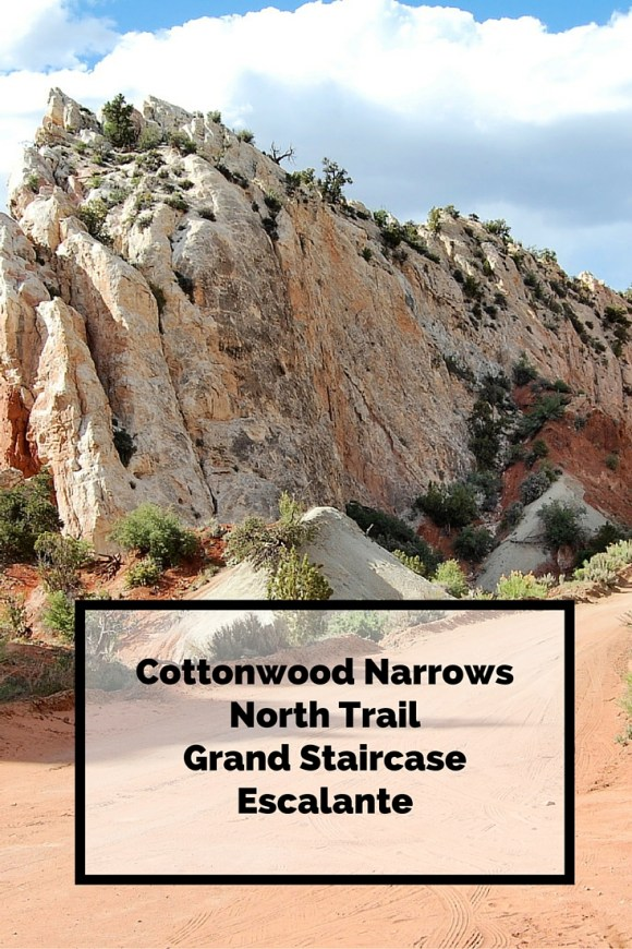 Cottonwood Narrows North Trail, Grand Staircase Escalante