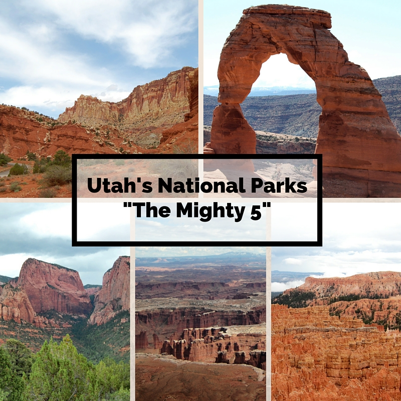 The Mighty 5: Utah's National Parks