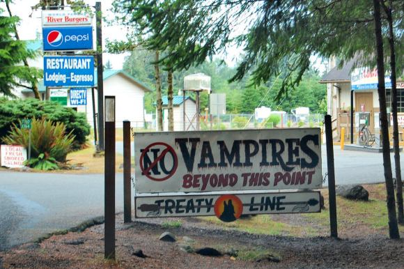 Twi-hard in Forks Washington
