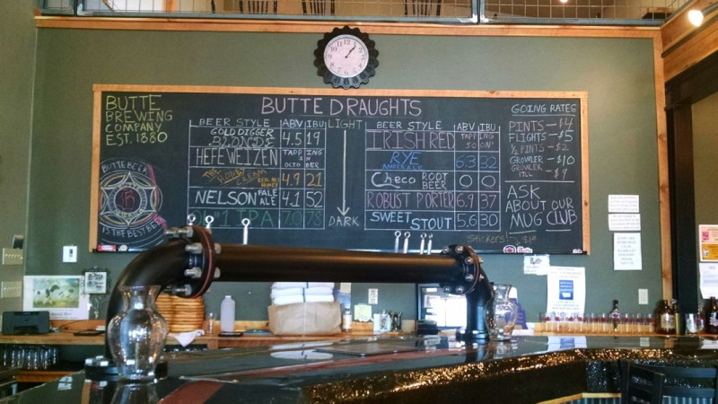 Butte Brewing Butte Montana