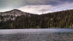 Efficiently Hiking Harrison Lake Trail #217, Sandpoint Idaho