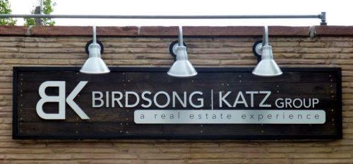 sustainable signs birdsong katz front photo