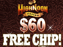 Real Time Gaming Casino High Noon Us Friendly 60 Free Chips