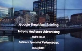 oogle Breakfast Briefing Advertising Audiences June 2017