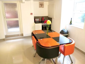 Shared Dining / Living area