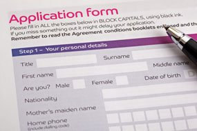 Online Application Forms