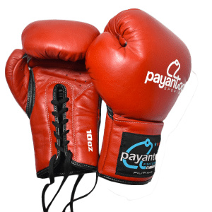 Boxing Gloves Lace Up