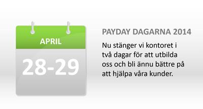 Payday-Dagarna-2014