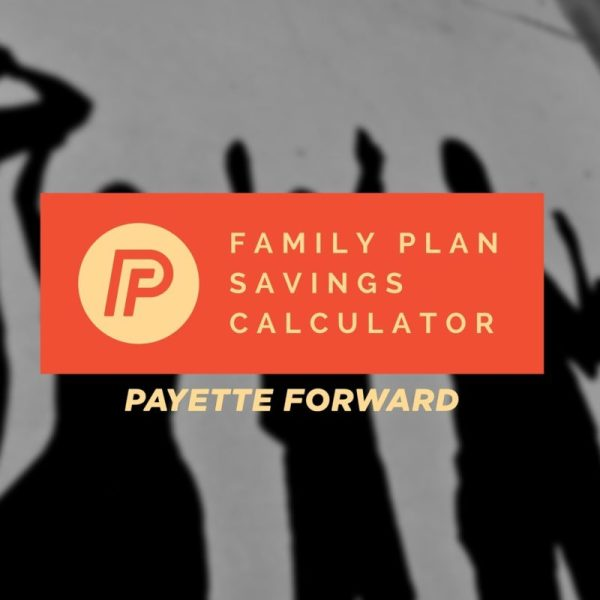 Cell Phone Family Plan Savings Calculator