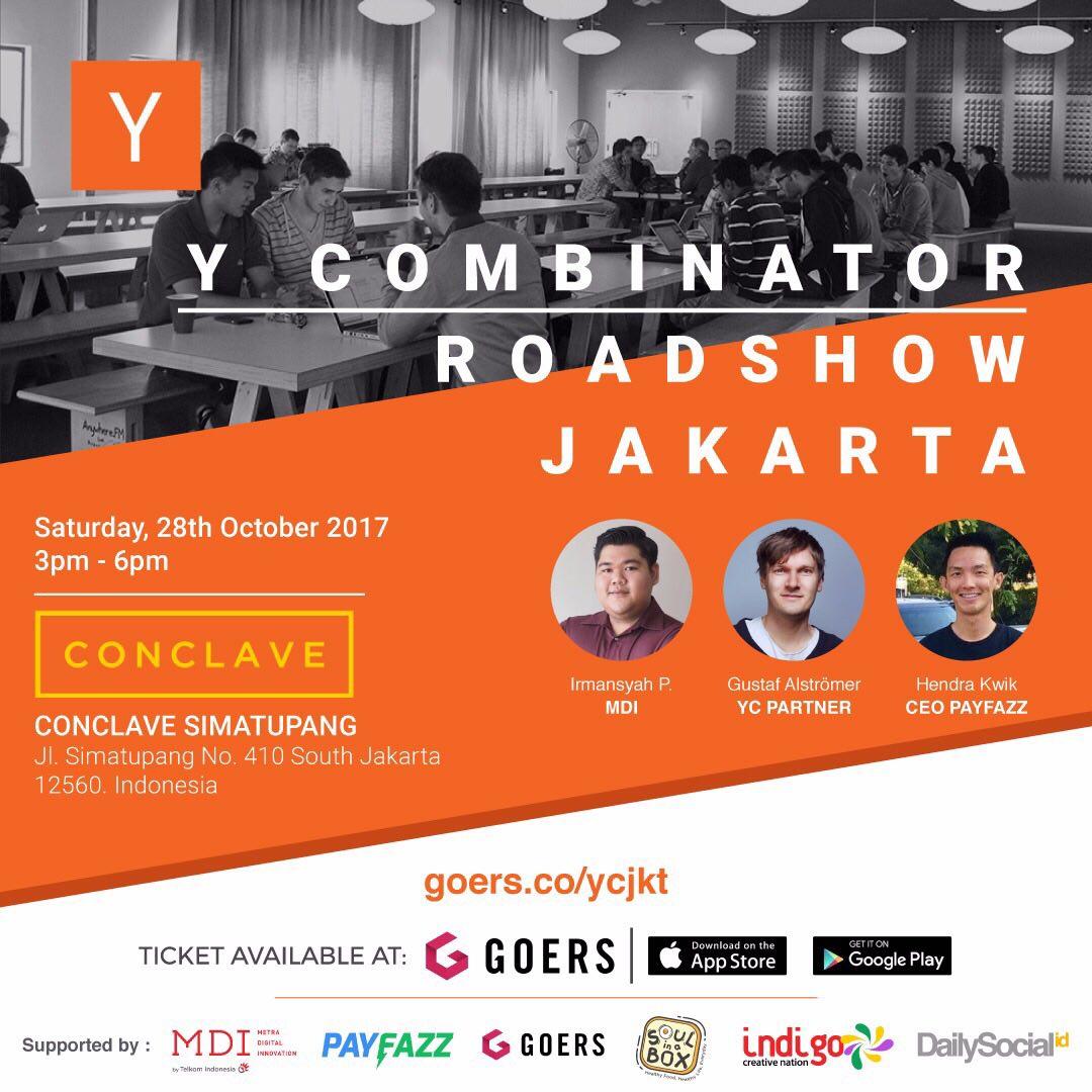 Y Combinator Roadshow Jakarta