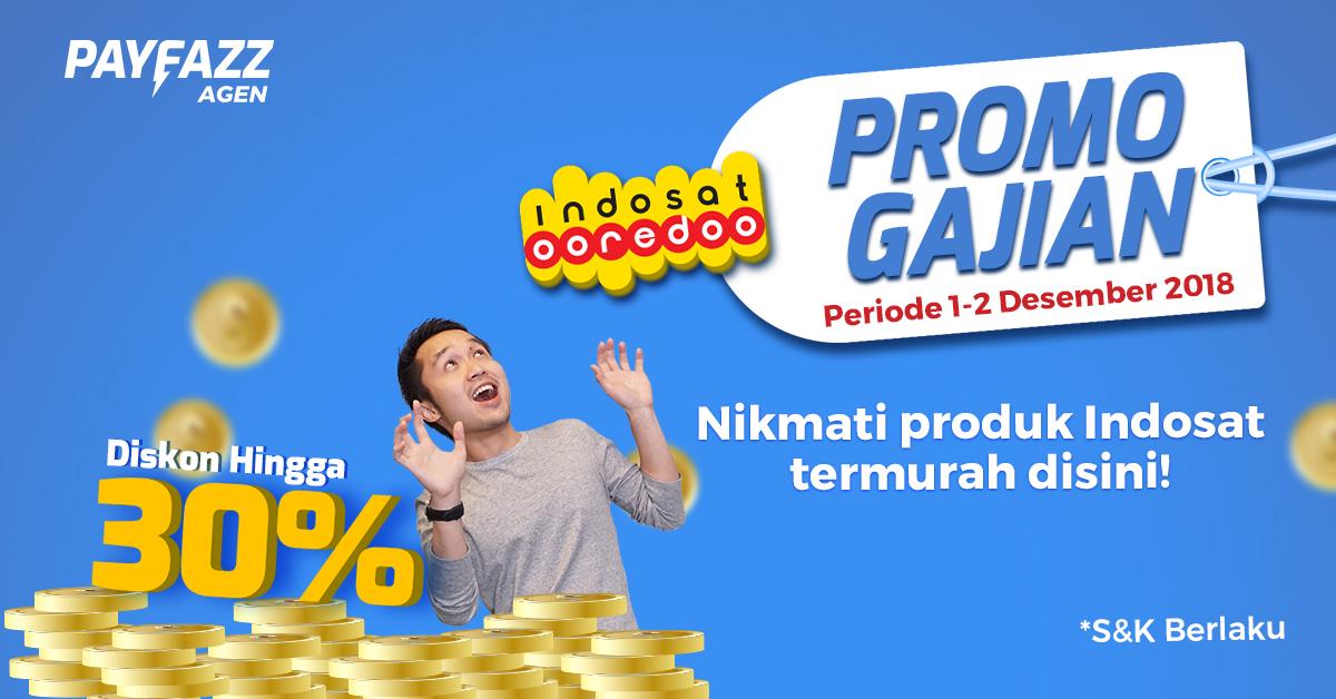 Promo Gajian Indosat Untungnya Berlapis - lapis!