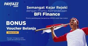 Promo Kemerdekaan BFI Finance, Ajukan Pinjaman Kini Berhadiah Voucher Belanja!