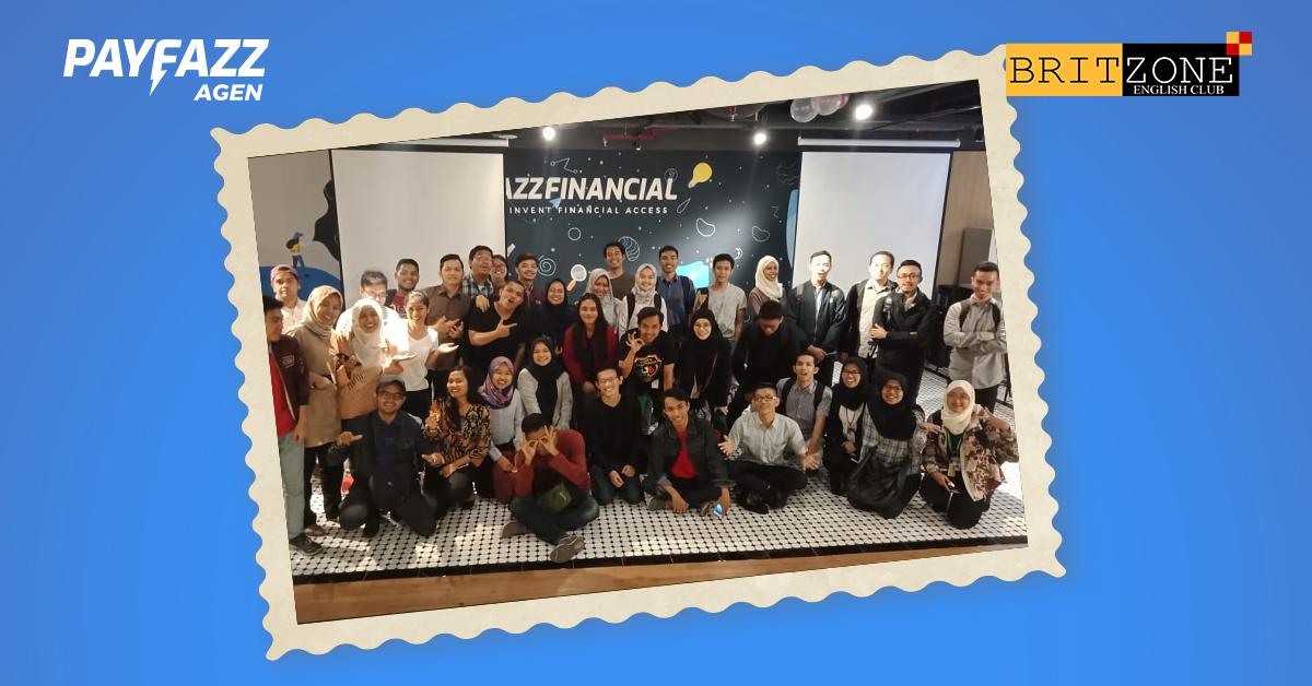 Belajar Public Speaking bersama Britzone English Community di PAYFAZZ