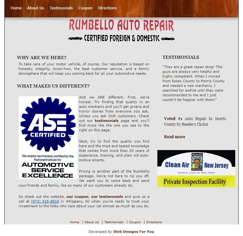 Rumbello Auto Repair