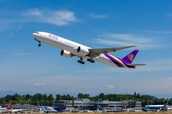 THAI continues to operate to EU destinations