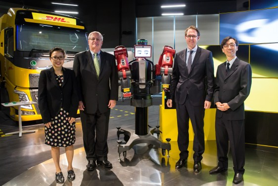 DHL opens Innovation Centre in Singapore