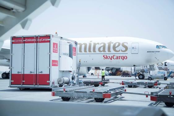 SkyCargo marks 35k tonnes of cool chain products