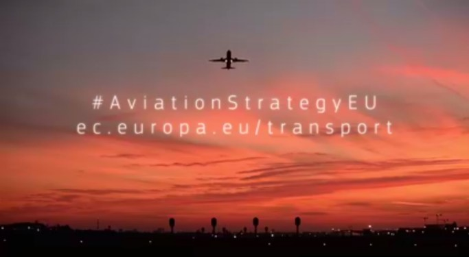Commission presents a new Aviation Strategy for Europe