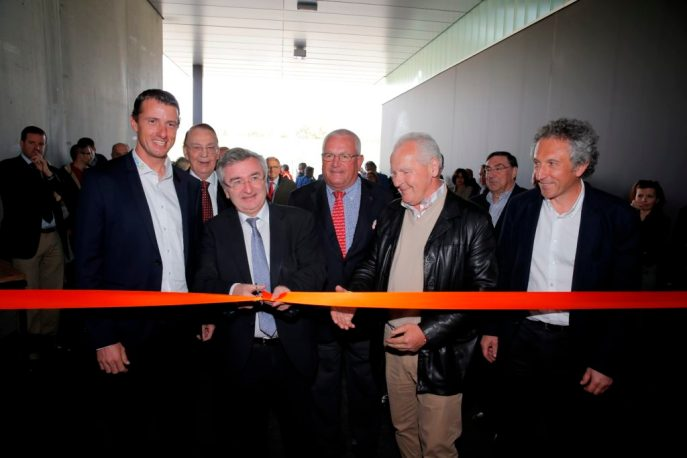 The official opening of the HORSE INN at Liege Airport.