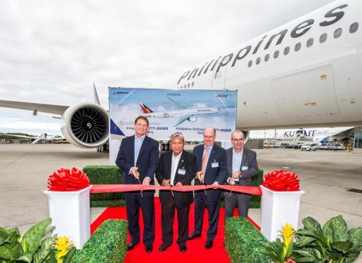 Philippine Airlines' new B777-300ER to go trans-Pacific