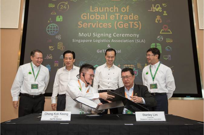 MoU Signing, GeTS and SLA