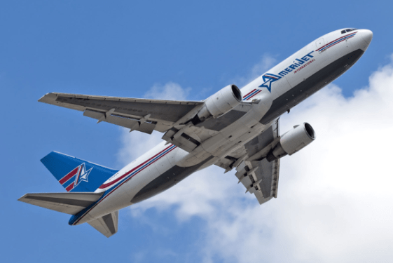 Amerijet announces all-cargo route between Miami and Brussels.