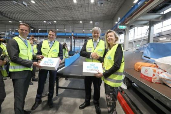 KLM Cargo's new and innovative sorting system