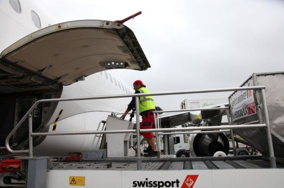 Swissport Cargo's Chicago O'hare state-of-the-art warehouse