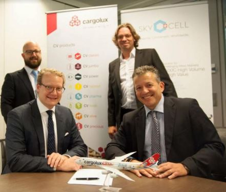 Cargolux partners with SkyCell