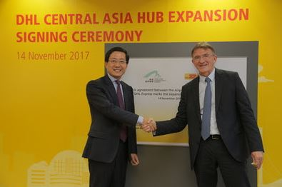 DHL's €335 million Central Asia Hub expansion