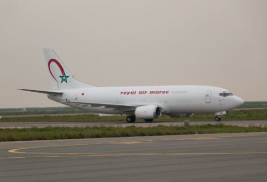 Twice weekly cargo service to Morocco