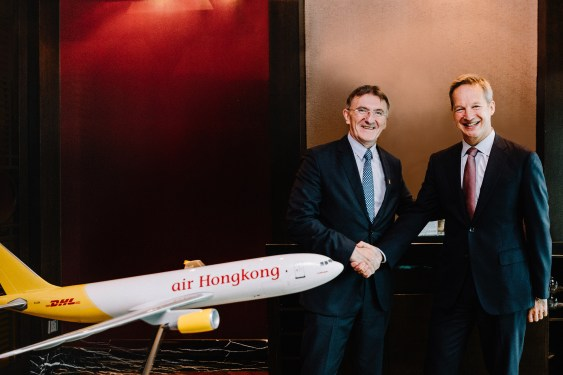 Air Hong Kong will continue to support DHL Express's growth