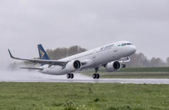 Air Astana takes delivery of 1st Airbus A321neo