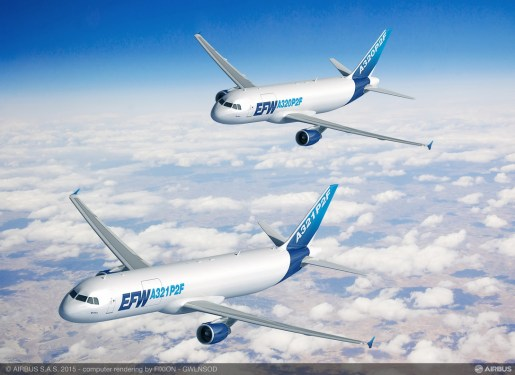 EFW secures launch contract for A321P2F conversion from Vallair