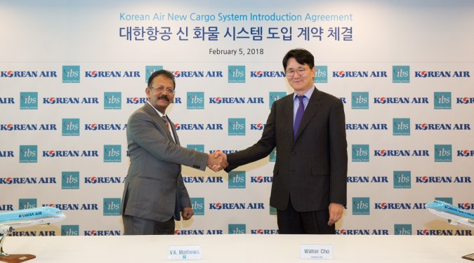 Korean Air to launch iCargo System