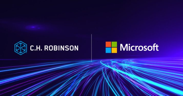 C.H. Robinson forges alliance with Microsoft to digitally transform supply chains